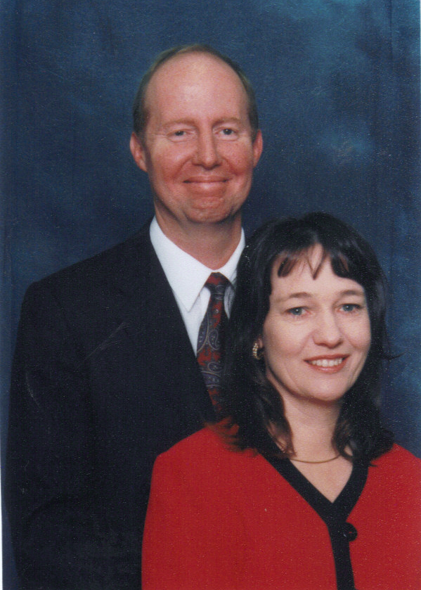 Pastor Eddie Fulford and his wife